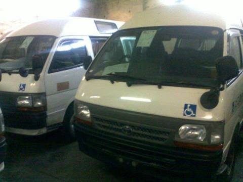 used Toyota Hiace Van - car - Harare - Bus for sale in Zimbabwe